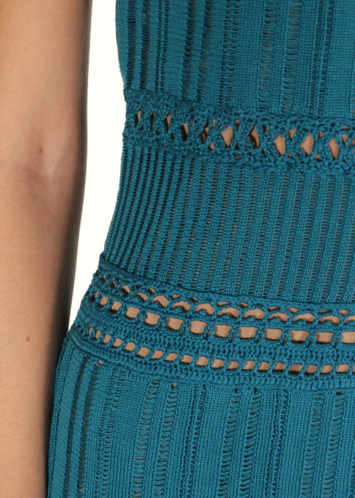Платье из хлопка ALBERTA FERRETTI