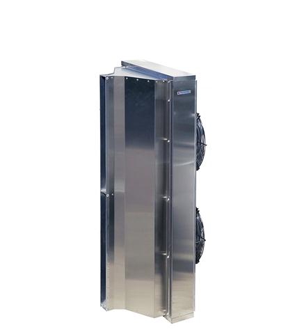 Завеса без нагрева Тепломаш КЭВ-П5051А серия 500 IP54 (Длина 1,5м) нержавеющая сталь