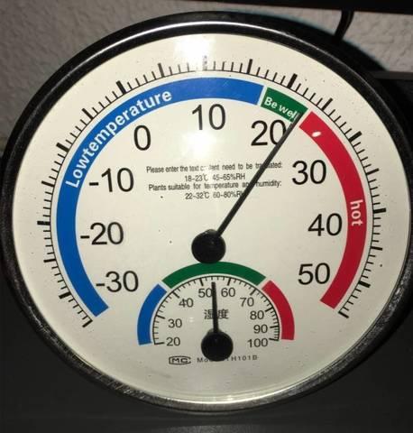 Термометр и гигрометр TH-101B  для внутреннего и наружного использования