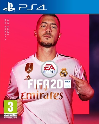 FIFA 20 (PS4, русская версия)