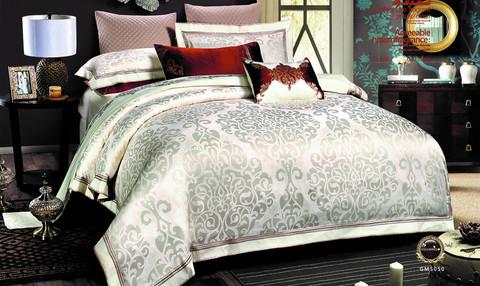 Постельное белье шелковый жаккард с вышивкой Valtery L 40