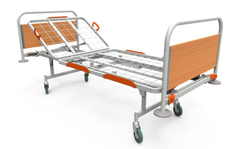 Кровать медицинская функциональная КФ-2 эконом - фото