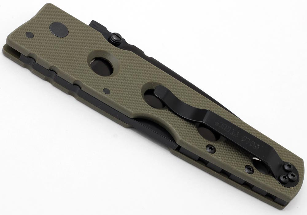 Нож Cold Steel Hold Out II 11HLVG Plain OD Green - фотография