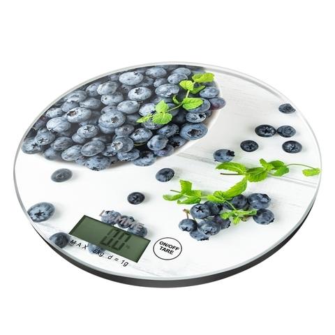 Кухонные весы LUMME LU-1341 черничная россыпь
