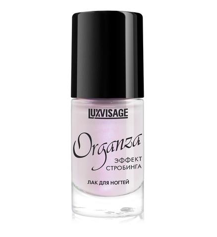 LuxVisage Лак для ногтей Organza тон 105 Пепельная роза 9г