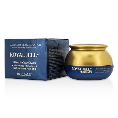 Bergamo Royal Jelly Wrinkle Care Cream омолаживающий крем с маточным молочком