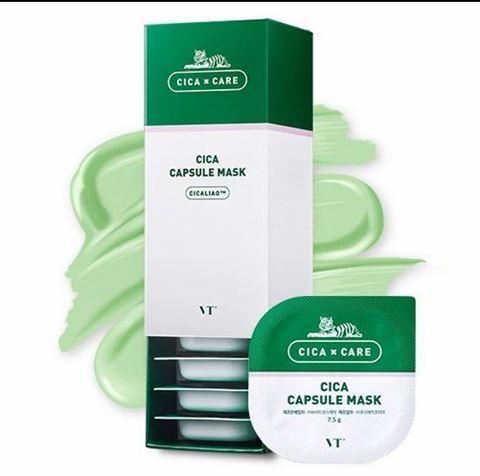 VT COSMETICS Cica Capsule Mask 10g×10ea