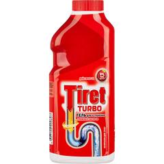 Средство для прочистки труб Tiret Turbo гель 500 мл