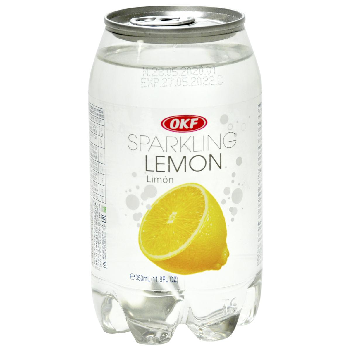 Газированная вода со вкусом лимона