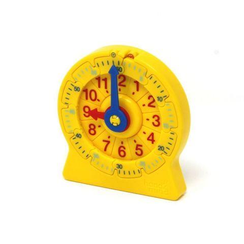 """92290 развивающая игрушка """"Учимся определять время. Часовой пазл"""" (малый, 1 элемент)"""