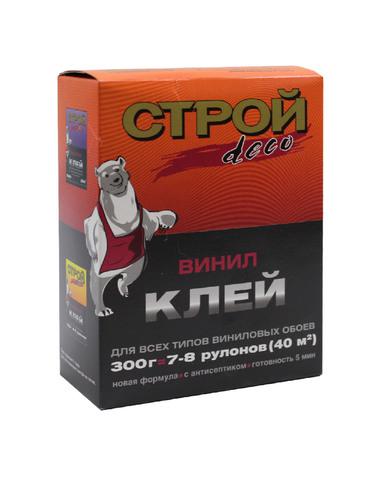 Клей обойный Строй Deco виниловый 300г