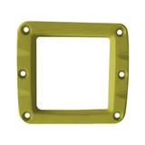 Сменная панель алюминиевая для фар W-Серии, Цвет Жёлтый, 1 штука ALO-2CFY ALO-2CFY фото-1