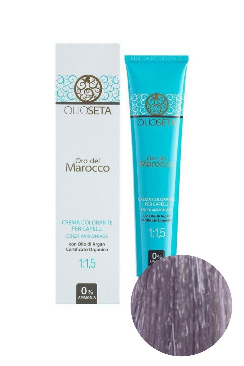 Крем-краска для волос Корректор блеск серебрянный Oro del Marocco, Barex