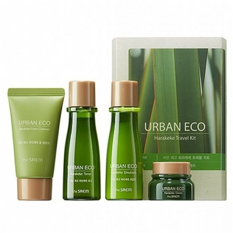 the Saem Urban Eco Harakeke Travel 4 Kit