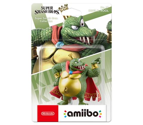 Фигурка Amiibo: Super Smash Bros. King K. Rool || Кинг К. Рул