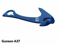 Якорь средний / 3мм/ левый отгиб ножки / синий / L-130mm /30kN/ W-63g