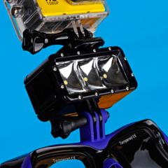 Подводный фонарь для GoPro