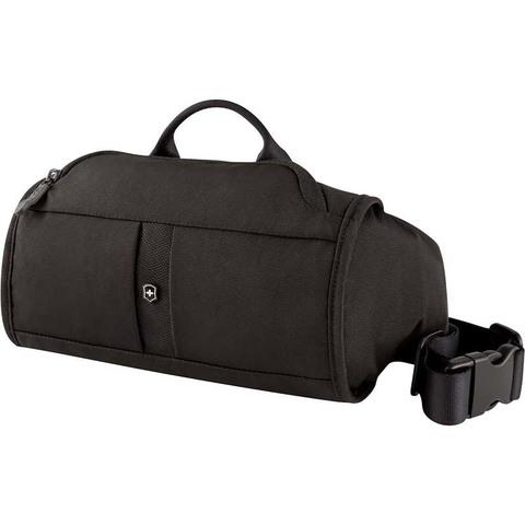 Сумка поясная Victorinox Lumbar Pack, черный, 27x7x15 см, 3 л