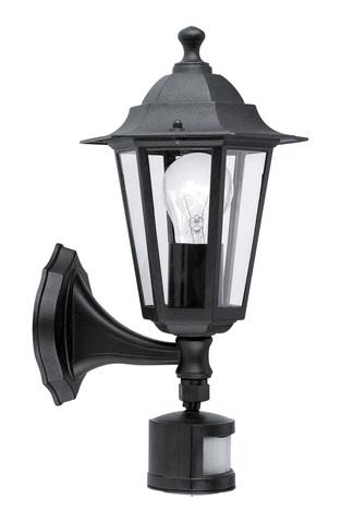 Уличный светильник с датчиком движения Eglo LATERNA 4 22469