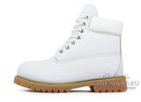 Ботинки Женские Timberland 10061 Waterproof White С Мехом