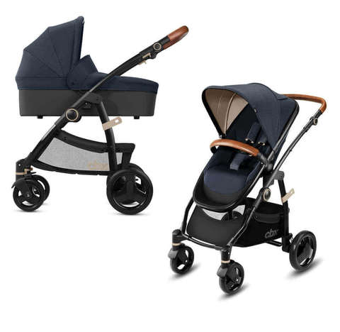 Детская коляска 2 в 1 CBX by Cybex Leotie Lux Jeansy Blue