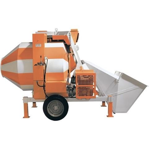 Бетоносмеситель СБР-1200А, дизельный двигатель, 25-30 м3/ч, 1200 л, 15 кВт.
