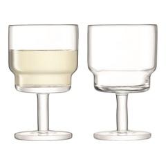 Набор из 2 бокалов для вина Utility, 220 мл, прозрачный, фото 1