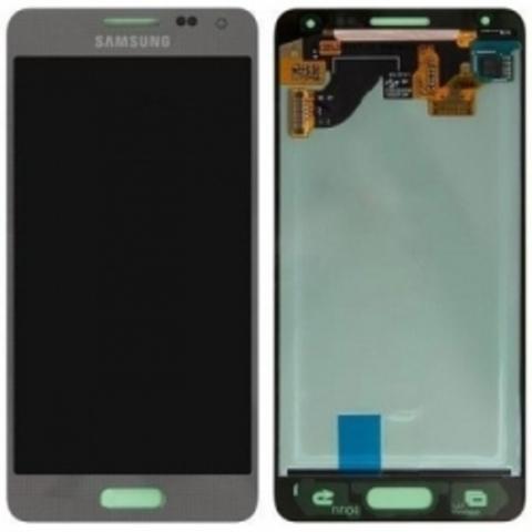LCD SAMSUNG G850F Alpha + Touch Silver Orig MOQ:5