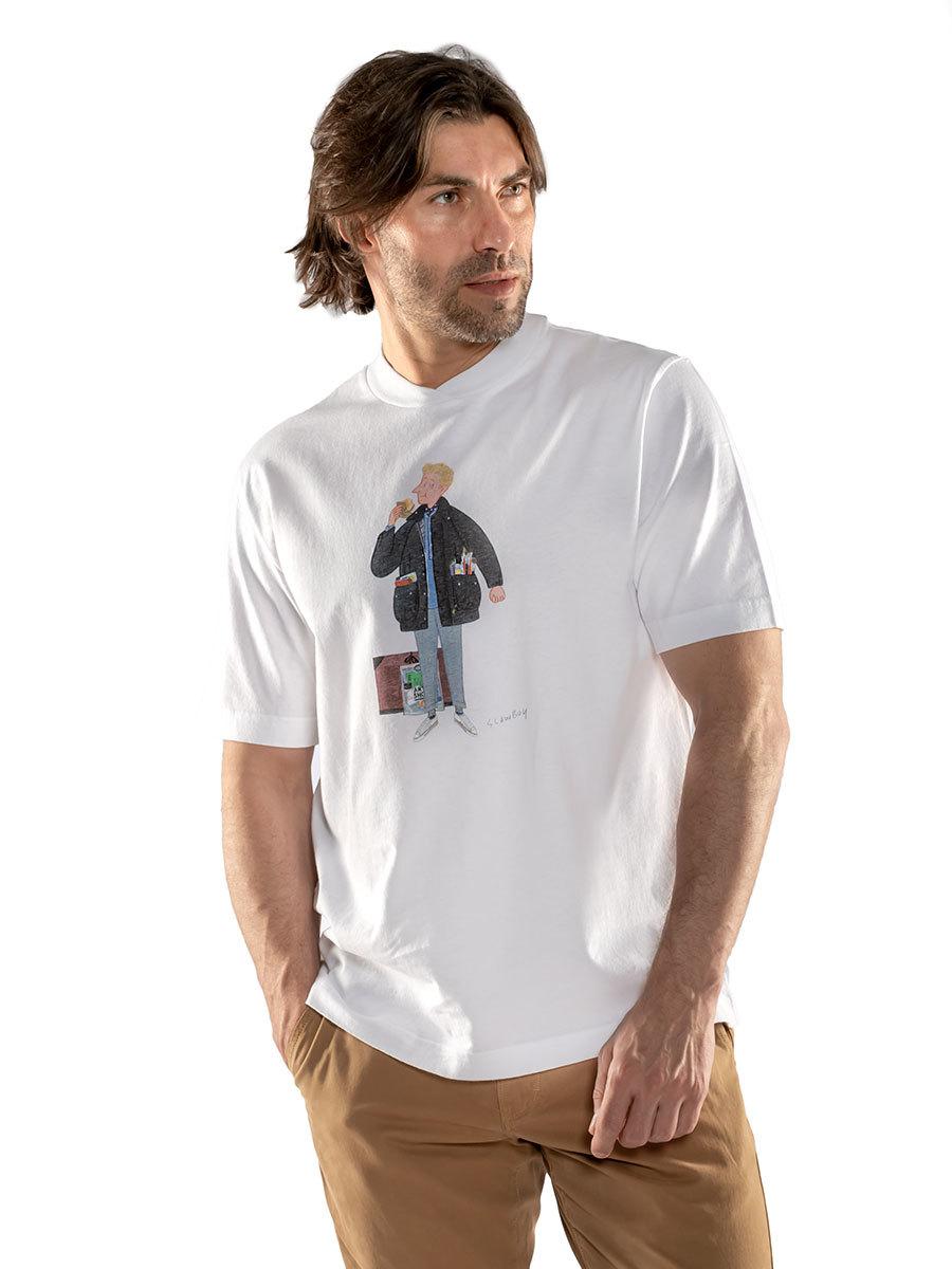 Barbour футболка Mr Slowboy Artist Tee MTS0829/WH11