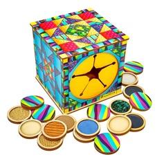 Тактильный куб Парочки Smile Decor П617