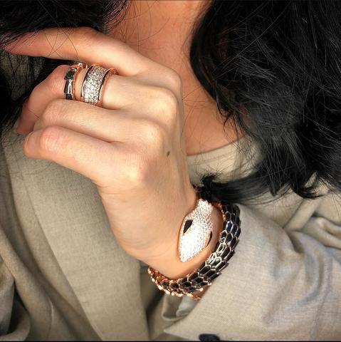Кольца и браслет BVLG