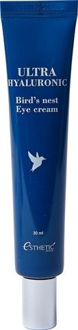 ESTHETIC HOUSE ЛАСТОЧКА/ГИАЛУРОН Крем для глаз Ultra Hyaluronic acid Bird's nest Eye cream, 30 мл