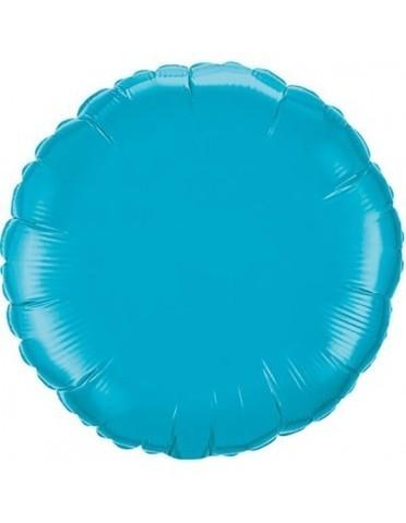 Шар круг 82 см синий