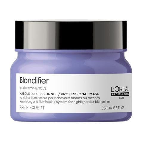 L'Oreal Professionnel Blondifier: Маска-сияние для волос, восстанавливающая (Masque), 250мл/500мл