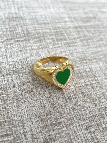 Кольцо Купри, позолота