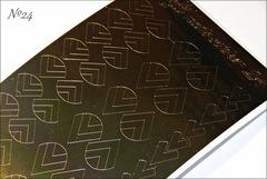 Металлизированные наклейки Arti nails Stiker цвет золото №24
