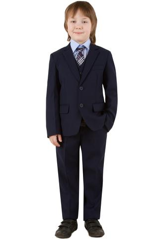 Школьный костюм-тройка для мальчика
