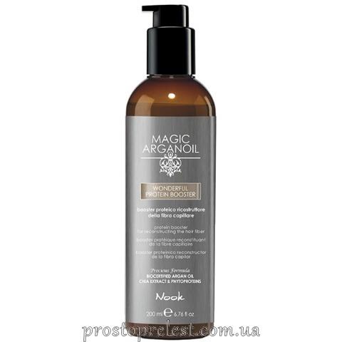 Nook Magic Arganoil Wonderful Protein Booster — Бустер для волосся реконструюючий протеїновий