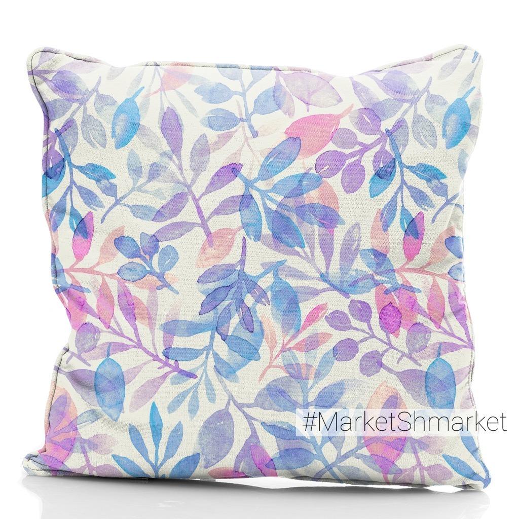 Purple and blue branches. Фиолетовые и голубые веточки
