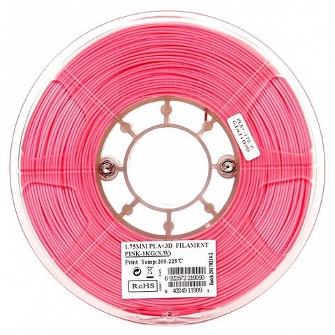 ESUN PLA+ 1.75 мм 1кг., розовый
