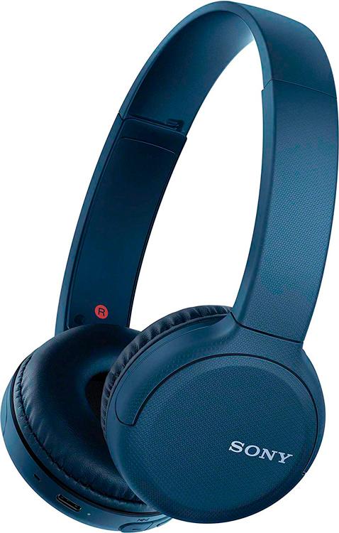 WH-CH510L беспроводные наушники Sony, цвет синий