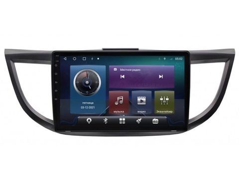 Магнитола Honda CR-V 2012-2015C Android 10 4/64GB IPS DSP4G модель CB2031TS10