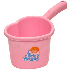 Little Angel. Ковш для детской ванночки,  розовый