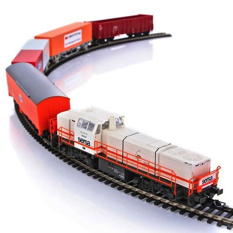 PIKO 59110 Стартовый набор моделей железных дорог « Грузовой состав SBB Cargo », 1:87