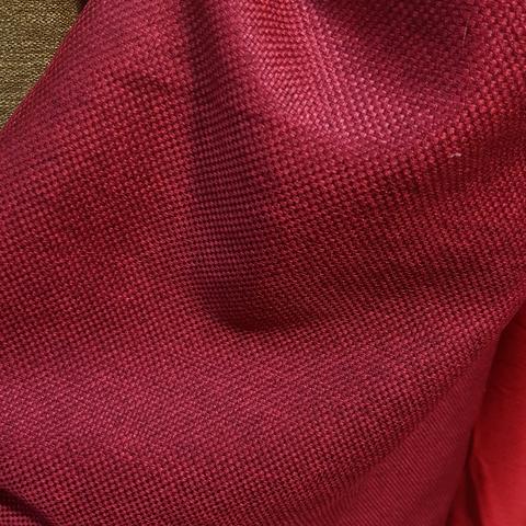 Блэкаут рогожка бордовая оптом. BLR-4