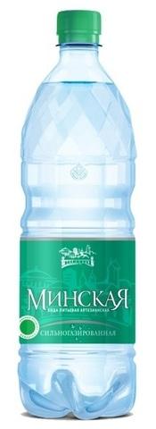 Вода минеральная сильногазированная