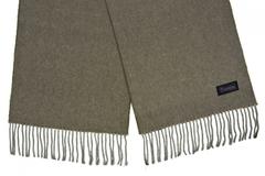 Шерстяной шарф серый 31401