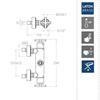 Смеситель термостатический для ванны RS-CROSS 621203S - фото №2