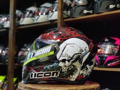 Мотошлем ICON Airflite Skull