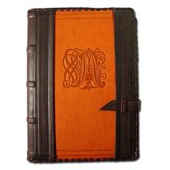 Ежедневник кожаный в стиле 19 века модель 18